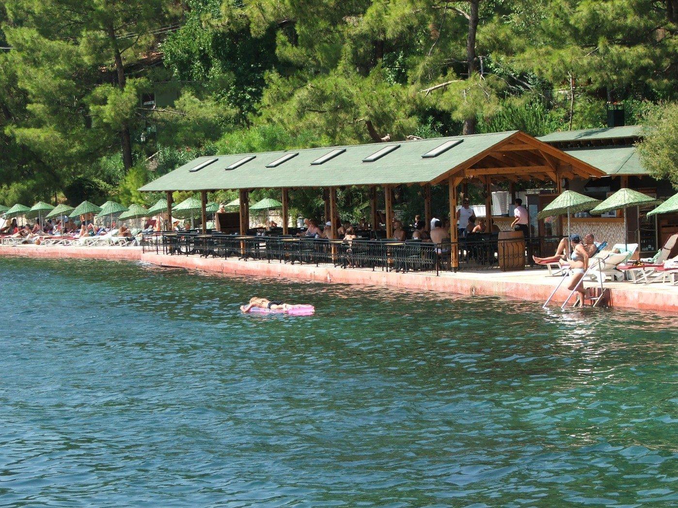 пляж отеля Marmaris Park