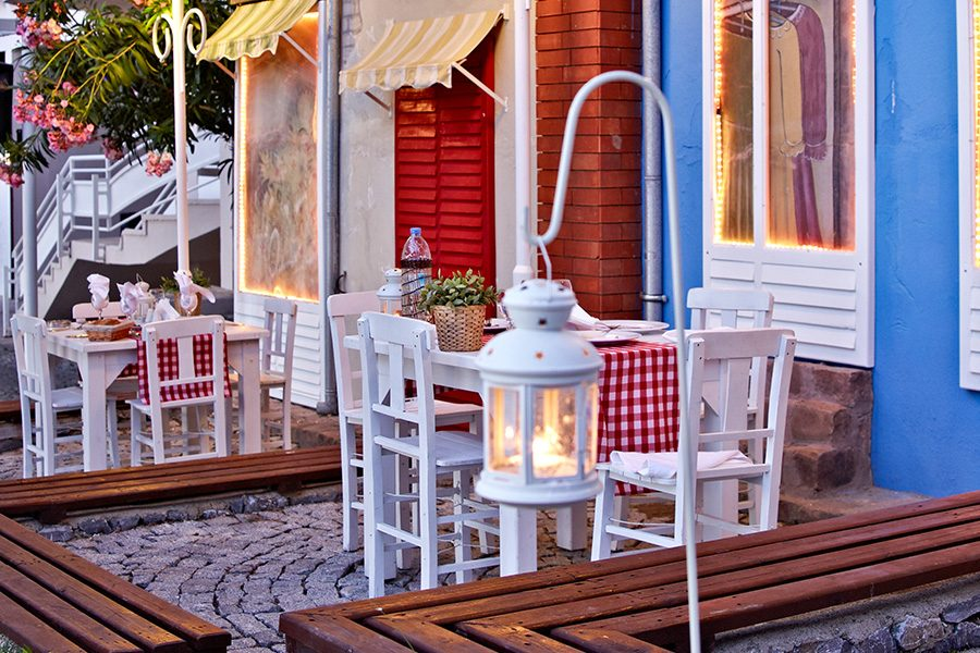 ресторан отеля Alkoclar Adakule Hotel