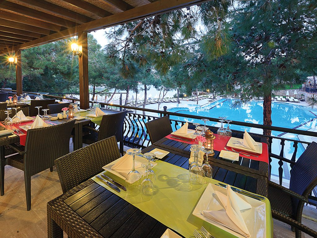 ресторан отеля Bodrum Park Resort
