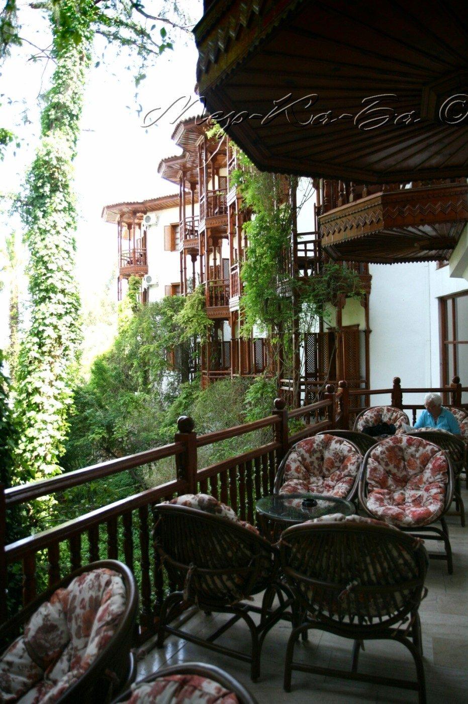 территория отеля Club&Hotel Letoonia