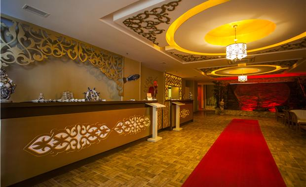 корпус отеля Eftalia Marin Hotel