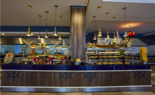 ресторан отеля Eftalia Marin Hotel