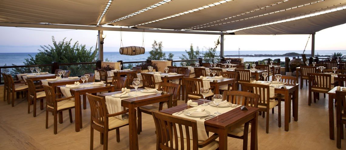 ресторан отеля Justiniano Club Park Conti
