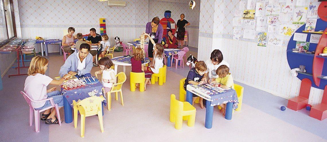детский клуб отеля Justiniano Club Park Conti