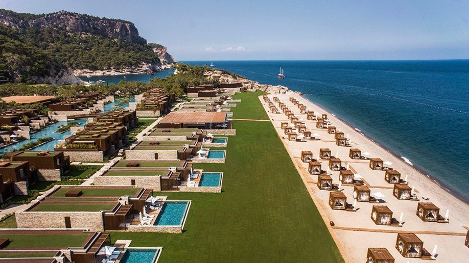 пляж отеля Maxx Royal Kemer Resort