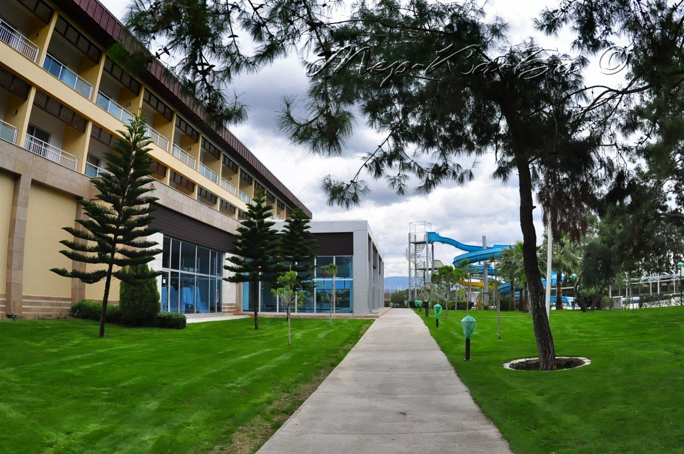 территория отеля Otium Eco Club Side