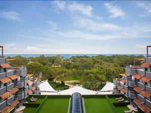 территория отеля Paloma Renaissance Antalya