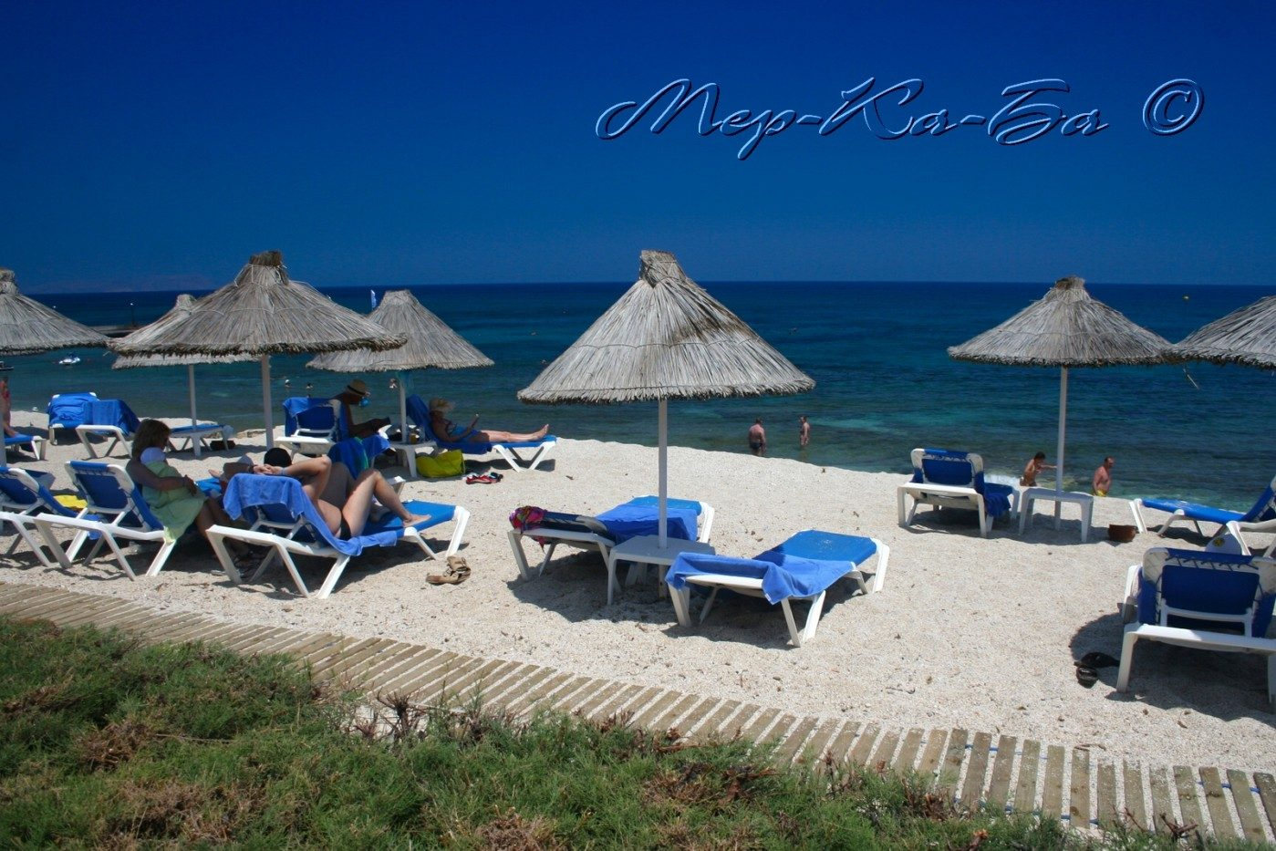 пляж отеля Aldemar Knossos Royal