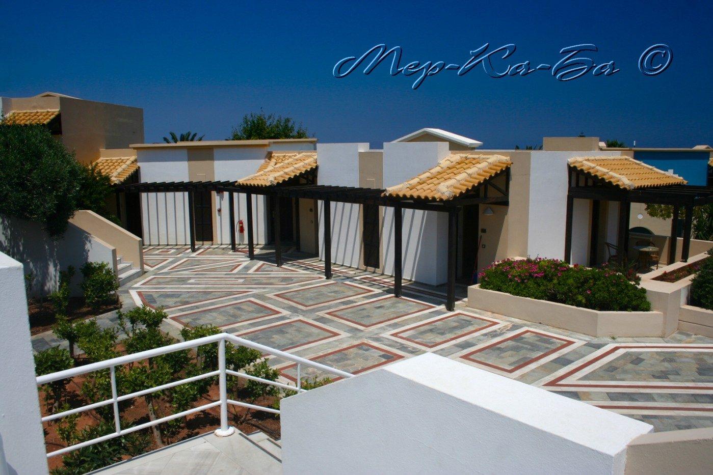 территория отеля Aldemar Knossos Royal