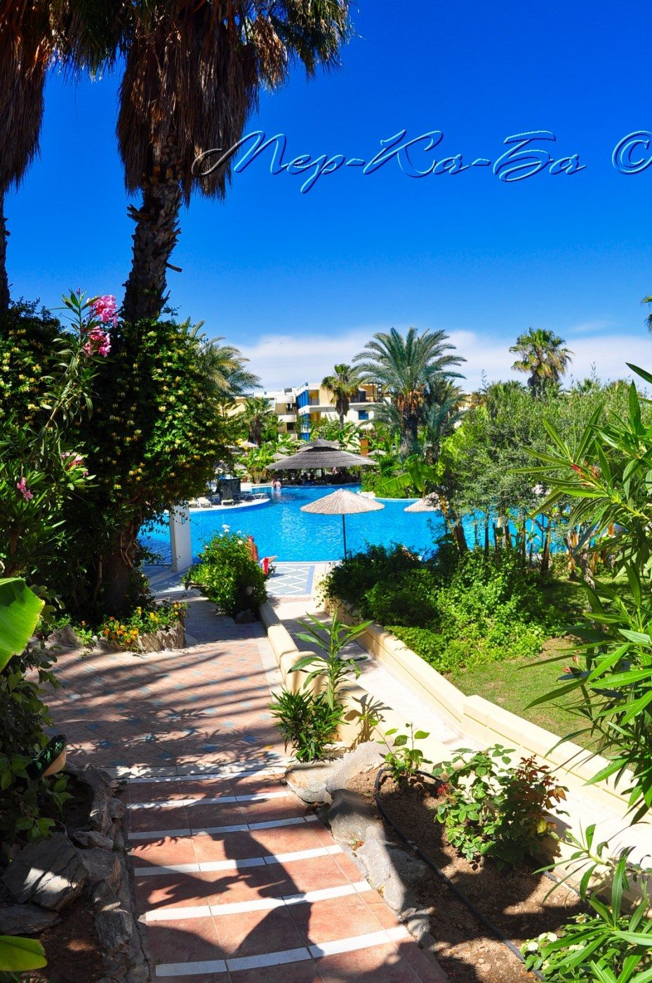 бассейн отеля Atrium Palace Thalassa SPA Resort & Villas