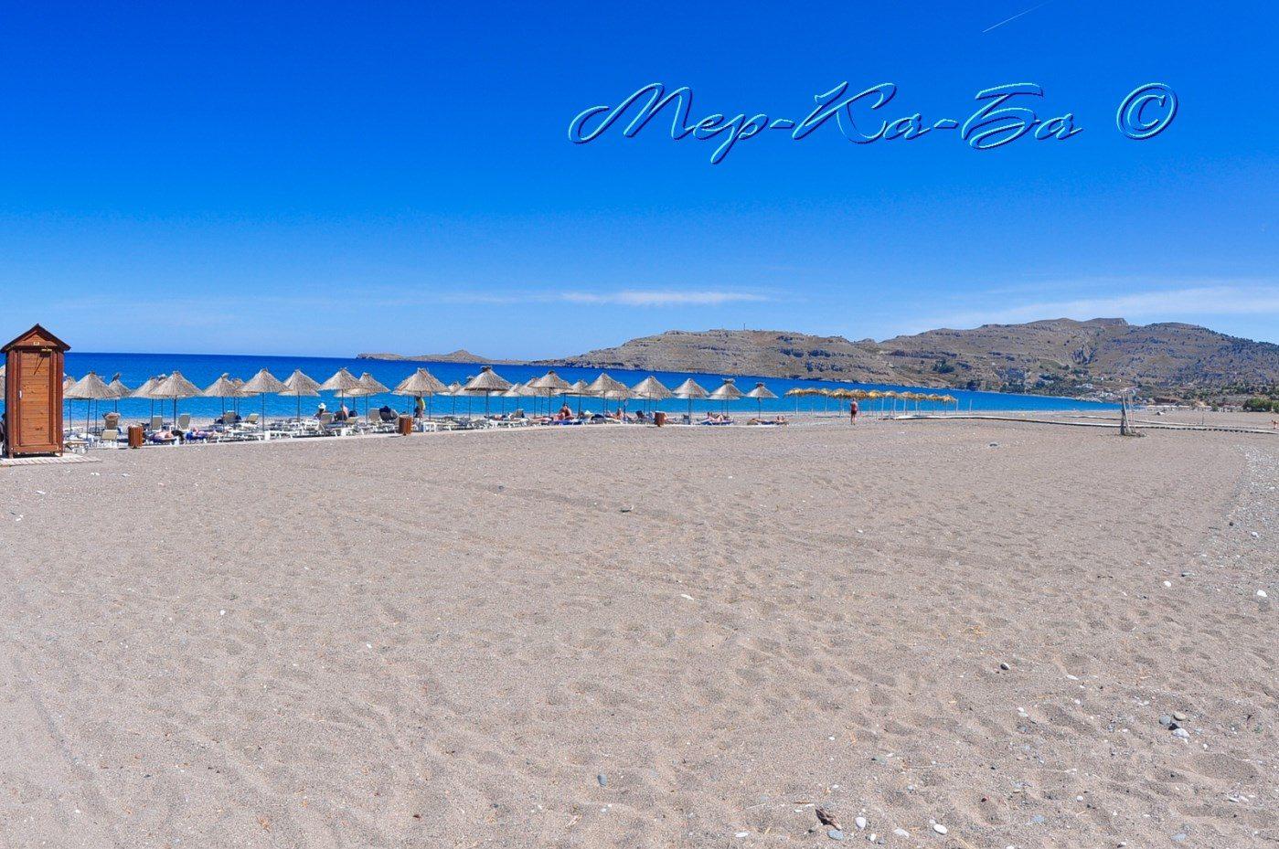 пляж отеля Atrium Palace Thalassa SPA Resort & Villas