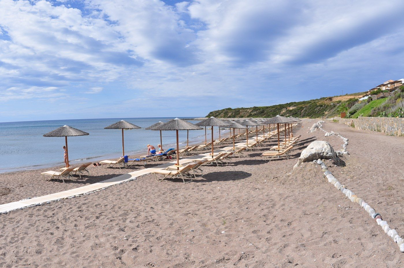 пляж отеля Atrium Prestige Thalasso Spa Resort & Villas