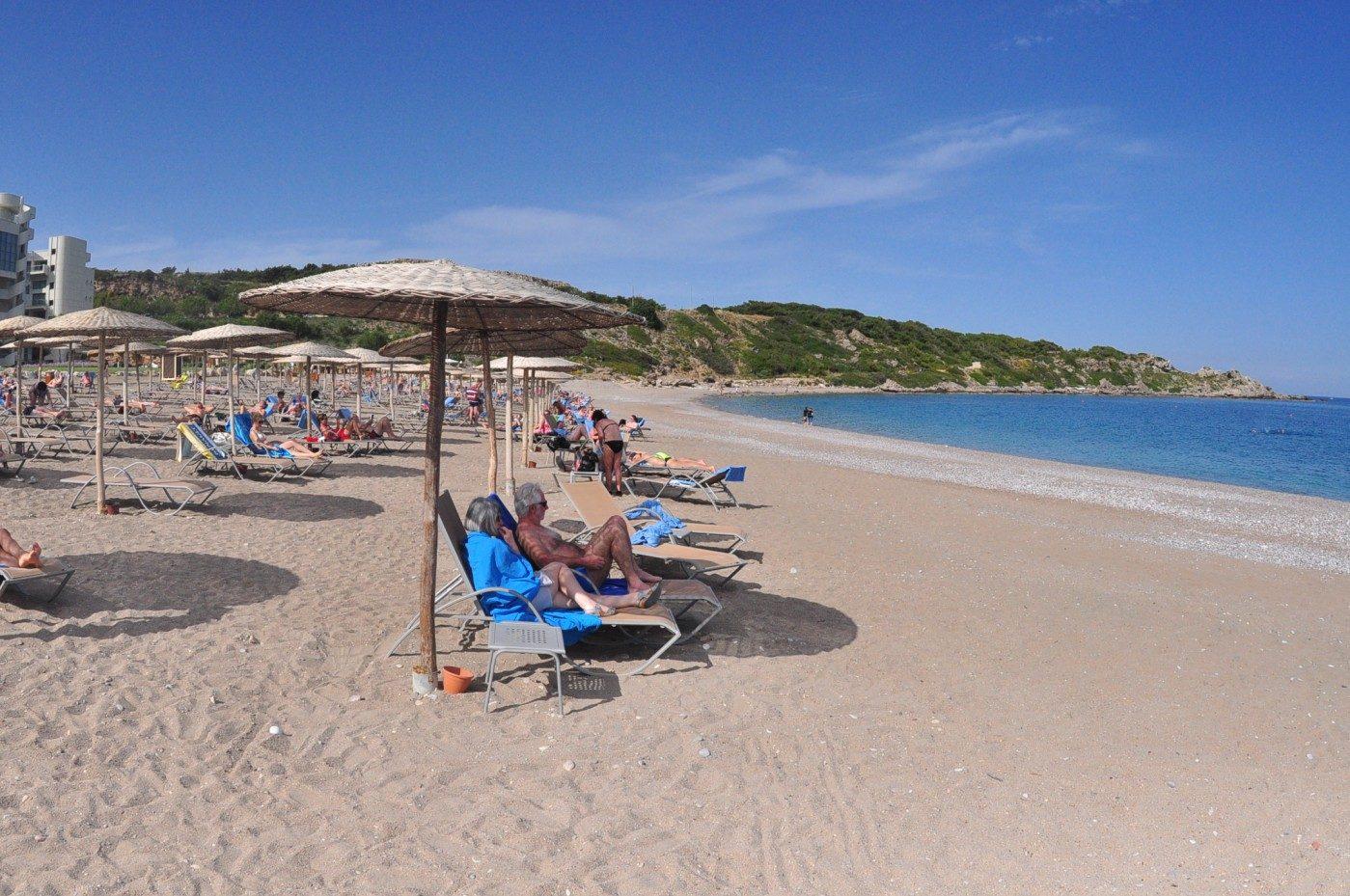 пляж отеля Elysium Resort