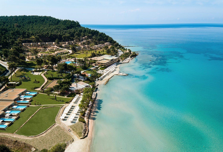 пляж отеля Porto Sani