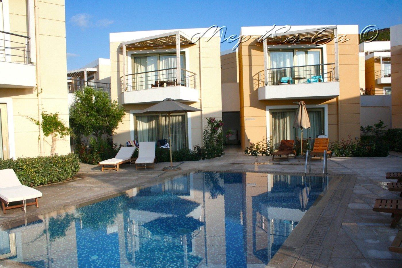 территория отеля Sensimar Royal Blue Resort&Spa