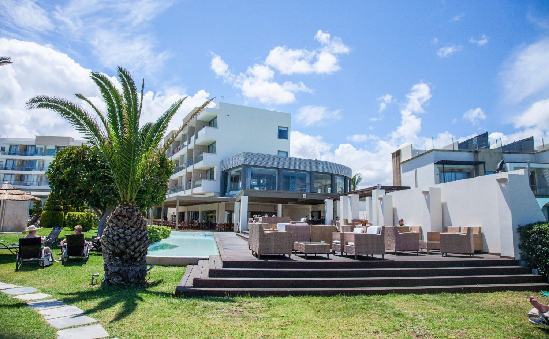 территория отеля Sentido Ixian Grand