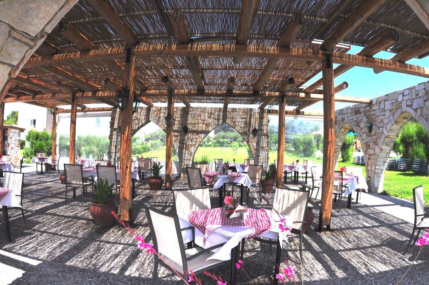 ресторан отеля Eden Roc