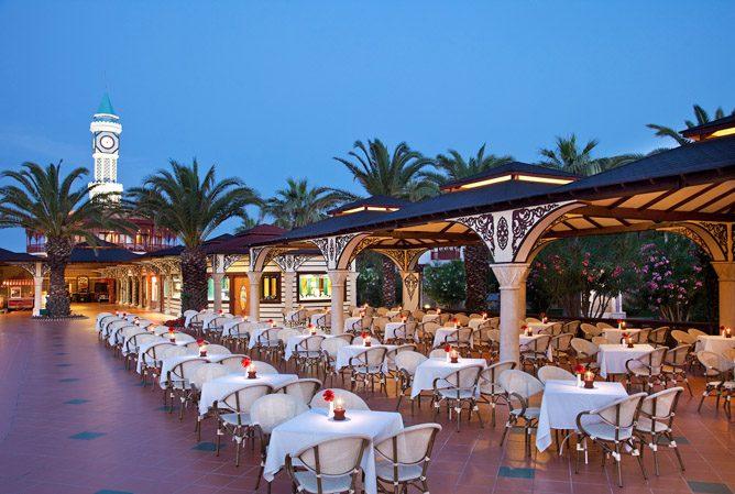 ресторан отеля Ali Bey Park & Club