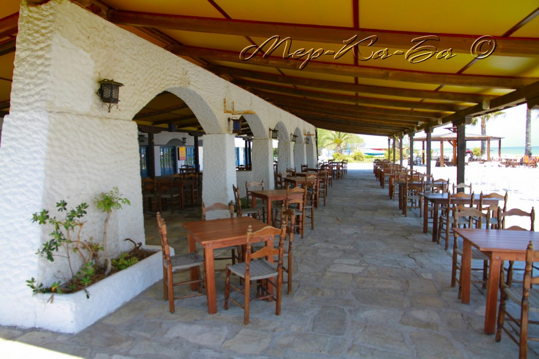 ресторан отеля Athos Palace