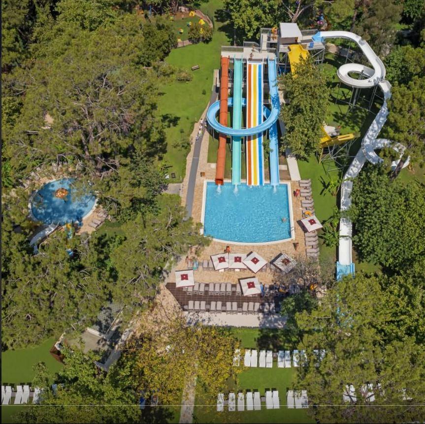 водные горки отеля Avantgarde Hotel & Resort