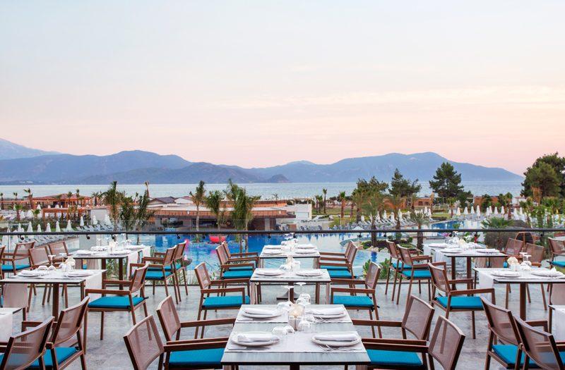 ресторан отеля Barut Fethiye Sensatori