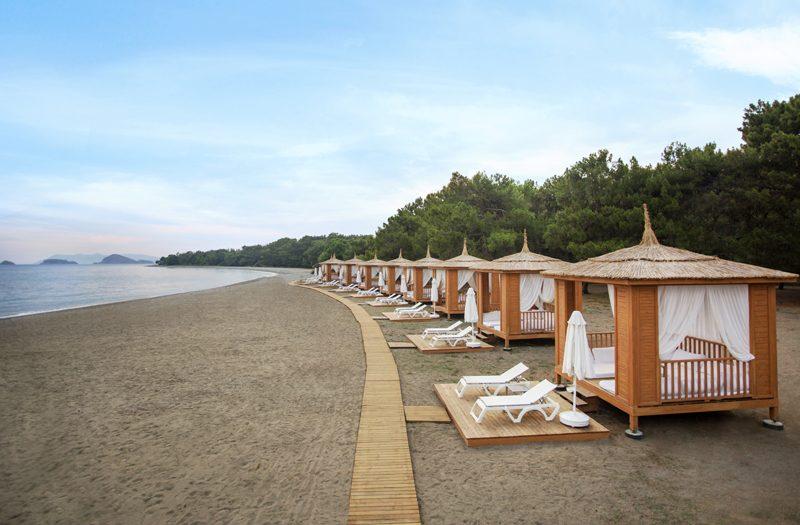 пляж отеля Barut Fethiye Sensatori