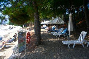пляж отеля Candia Park Village