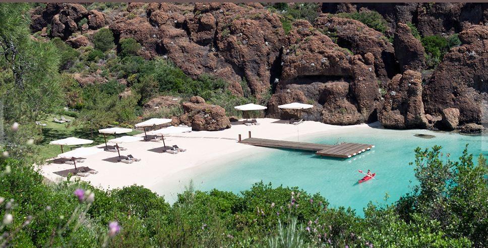 пляж отеля D - Hotel Maris