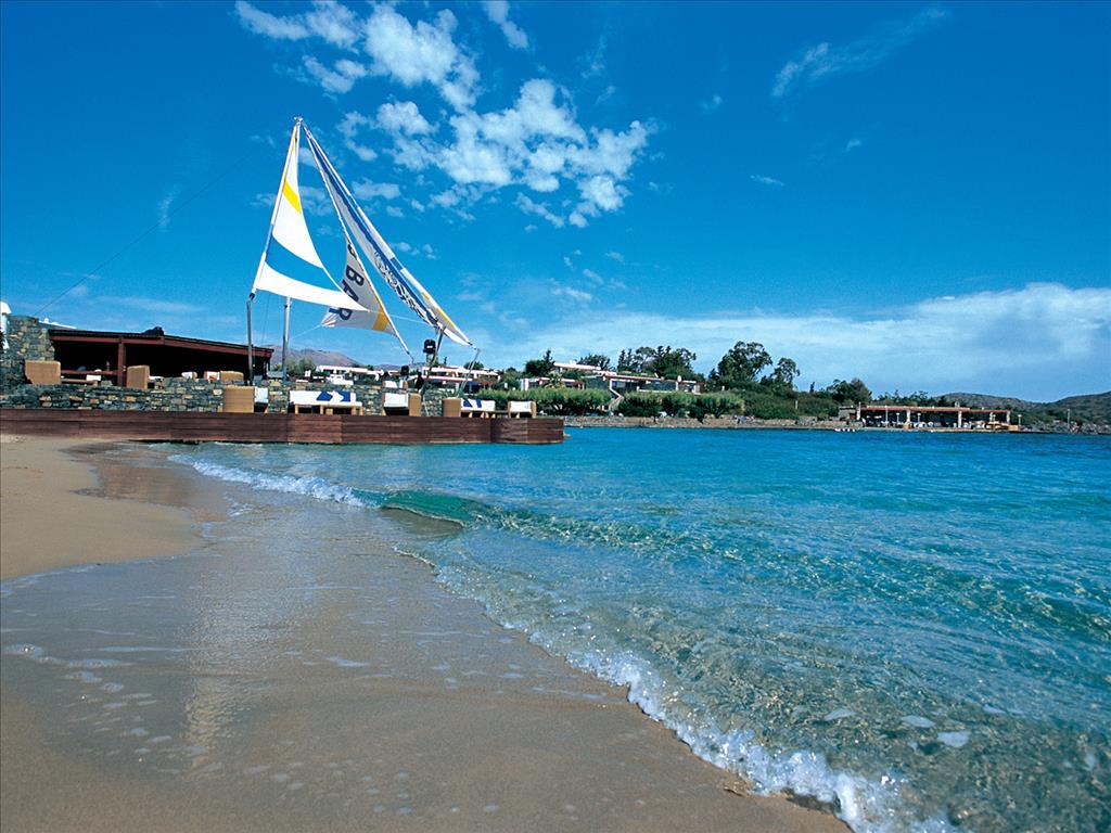 пляж отеля Elounda Bay Palace