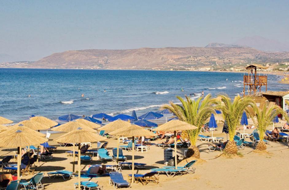 пляж отеля Fereniki Holiday Resort