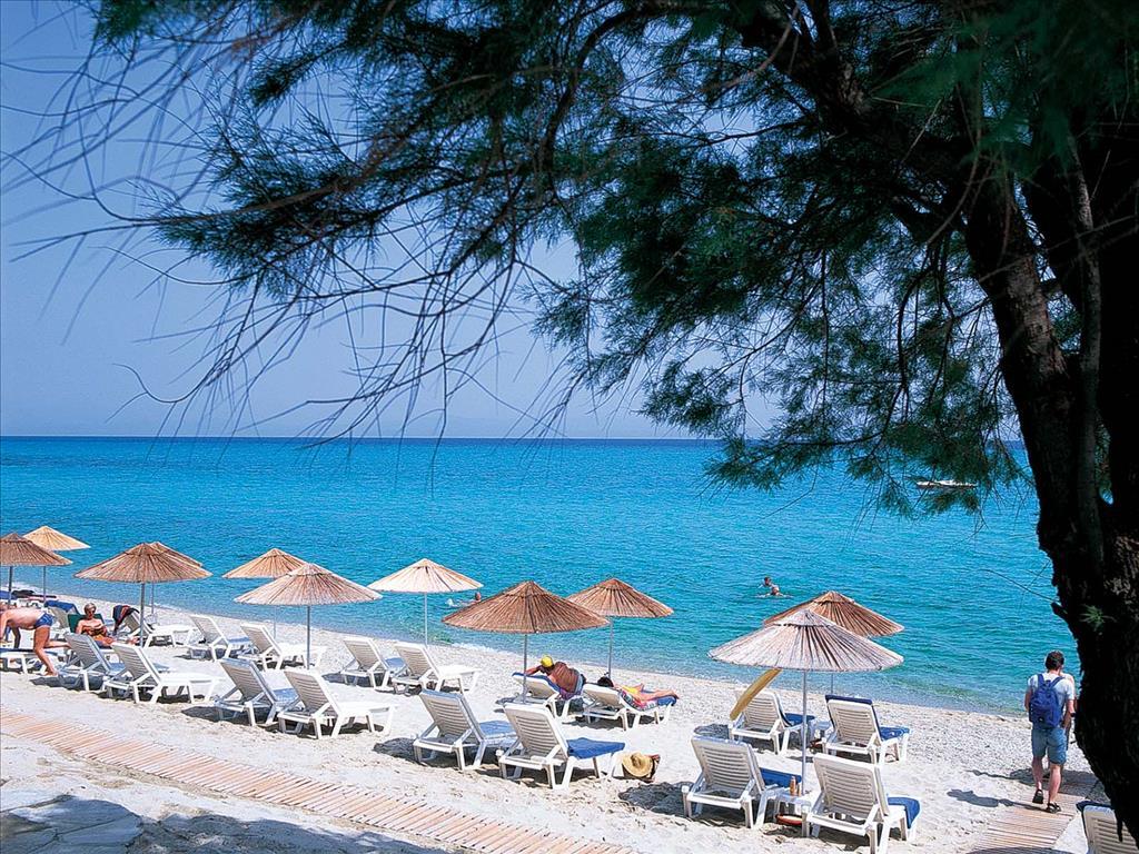 пляж отеля Grecotel Pella Beach