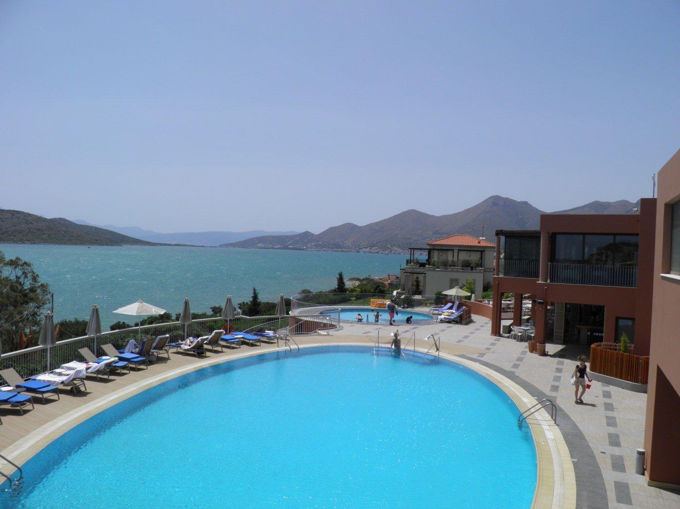 бассейн отеля Domes of Elounda