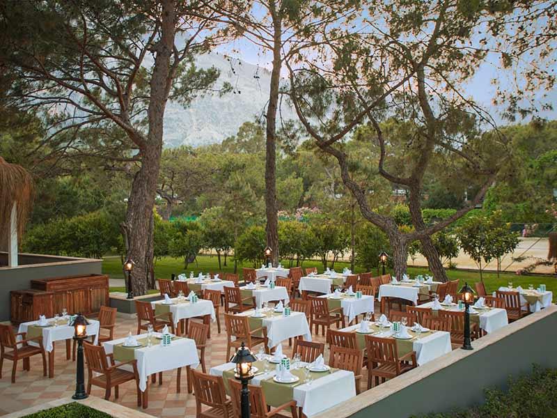 ресторан отеля Paloma Renaissance Antalya Beach Resorts & Spa