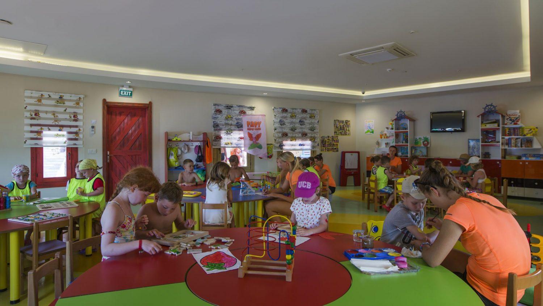 детский клуб отеля Papillon Belvil Hotel