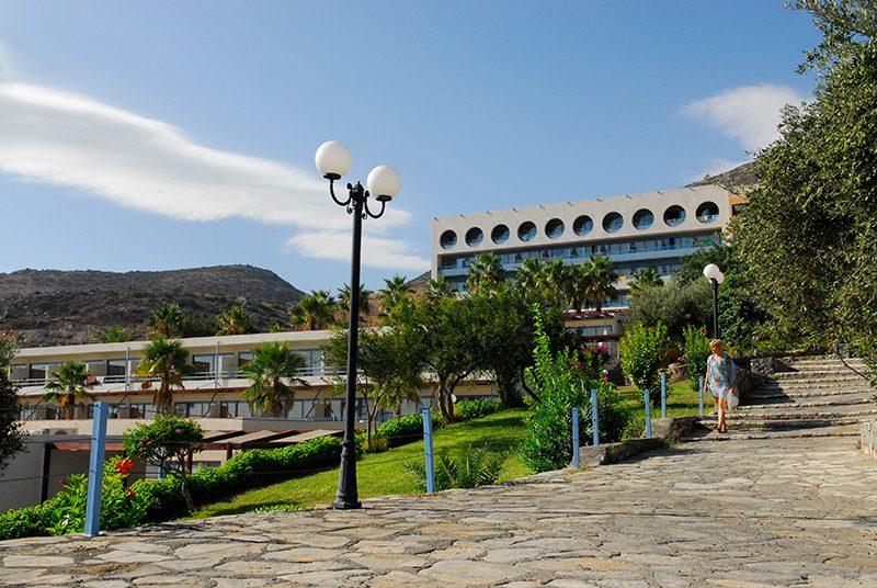территория отеля Royal Belvedere