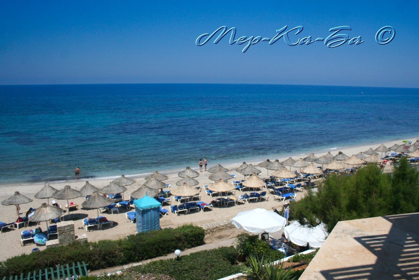 пляж отеля Aldemar Cretan Village