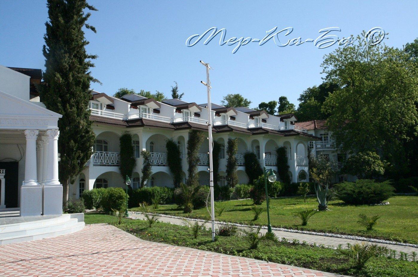 корпус отеля Lykia Botanika