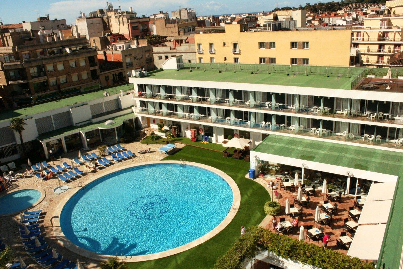 территория отеля Anabel