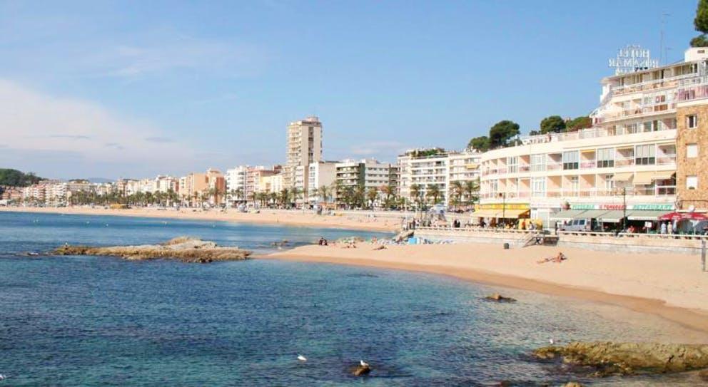пляж отеля Anabel