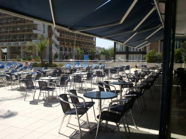 ресторан отеля Blaucel Blanes