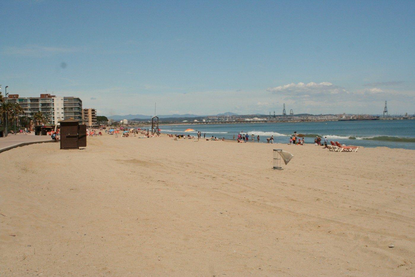 пляж отеля Blaumar Salou