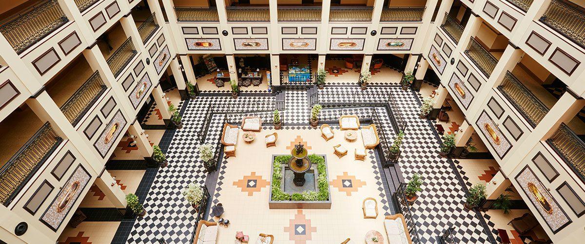 корпус отеля PortAventura Hotel Gold River