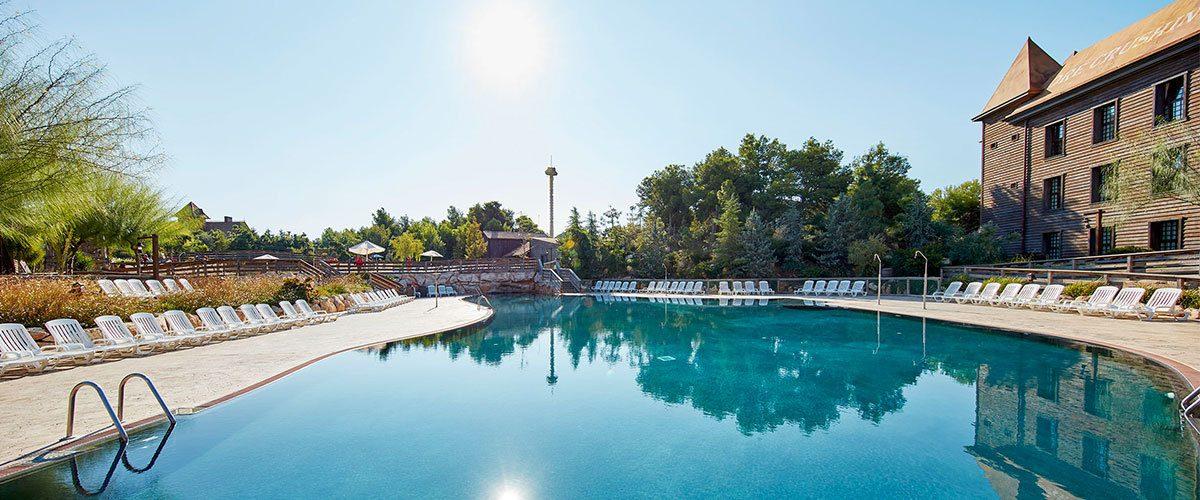 бассейн отеля PortAventura Hotel Gold River