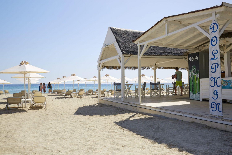 пляж отеля Pallini Beach