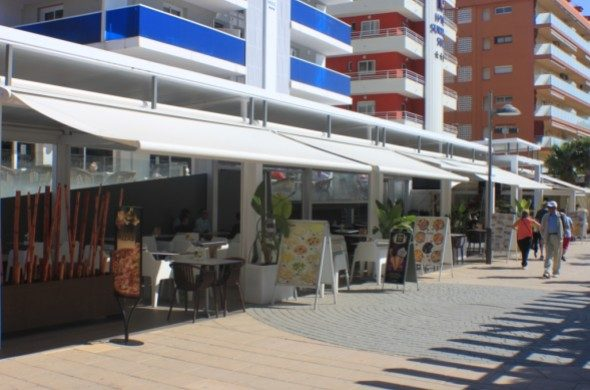 территория отеля Riviera