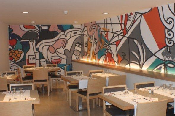 ресторан отеля Riviera