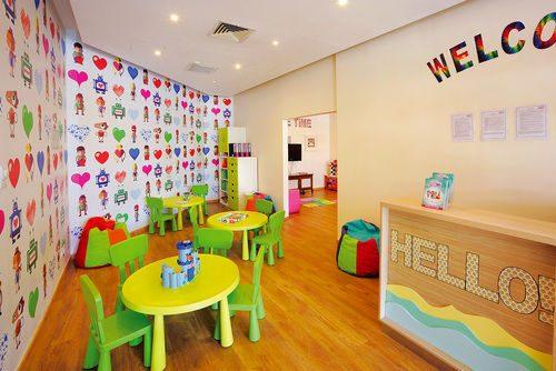 детский клуб отеля Еlias Beach