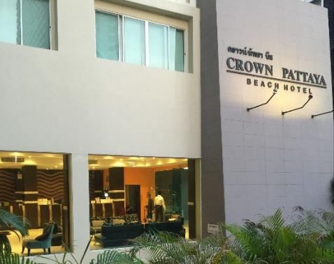 корпус отеля Crown Pattaya Beach
