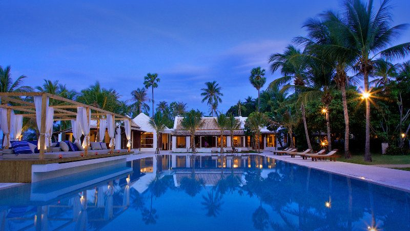 бассейн отеля Samui Palm Beach Resort