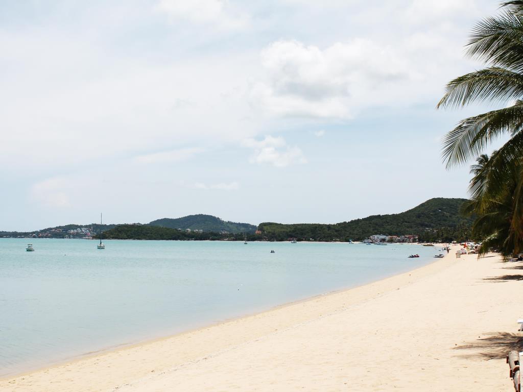 пляж отеля Samui Palm Beach Resort
